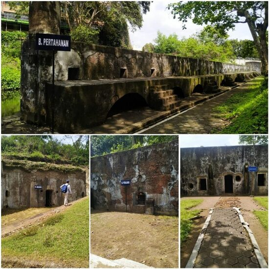 Beberapa spot di Benteng Pendem Cilacap
