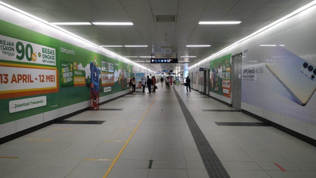 Stasiun MRT Bundaran HI Jakarta