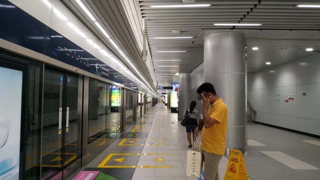 Peron MRT Jakarta