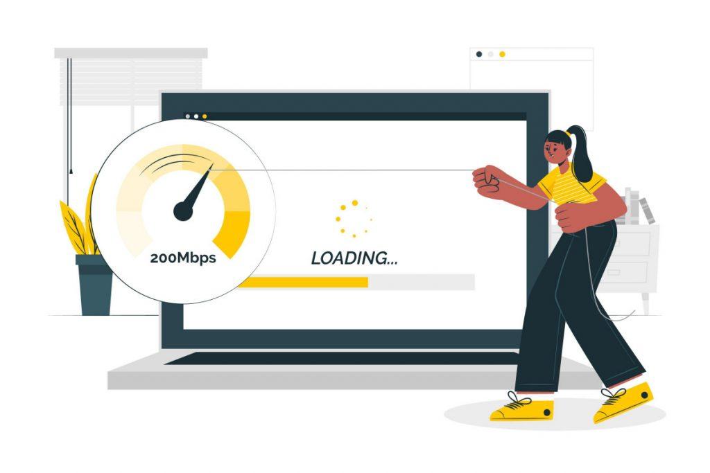 optimasi seo on page kecepatan website