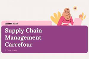 Supply Chain management carrefour
